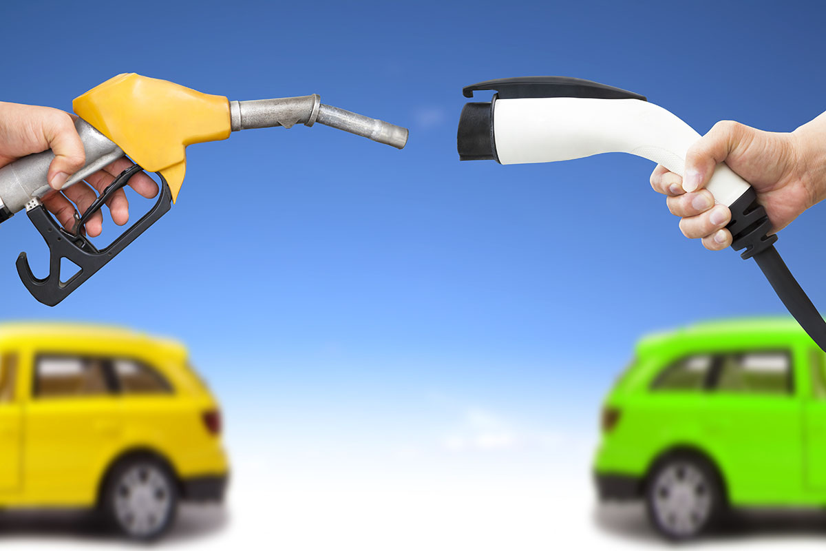 Gas Pump vs Electric Power.