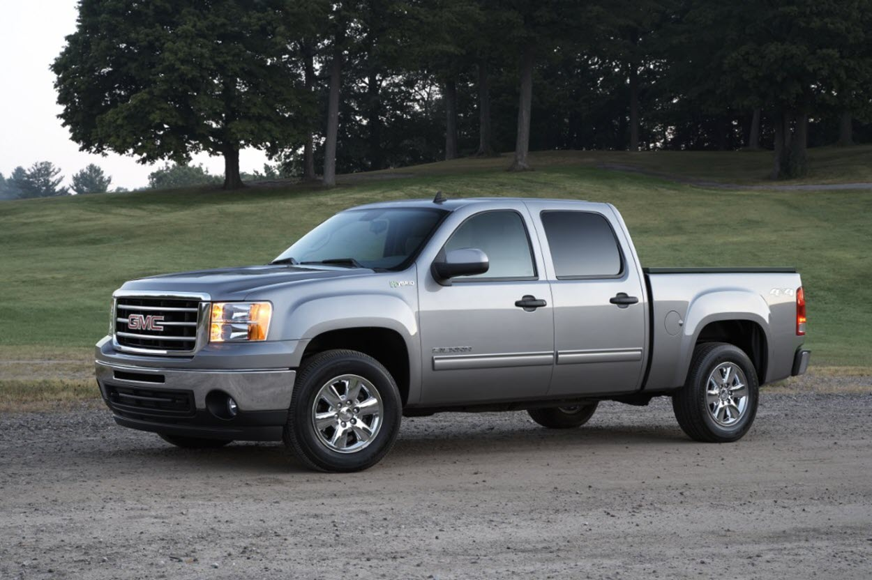 2013 version of the GMC Sierra 1500
