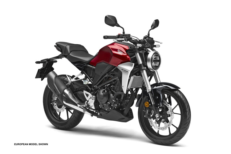 The 2019 Honda CB300R