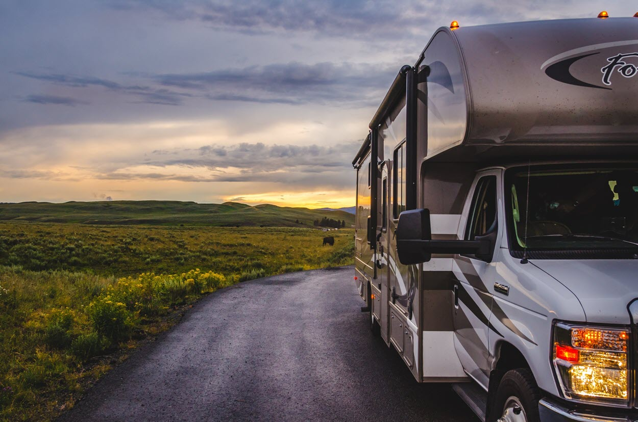 An RV can take you to the most majestic places, all while living with the comforts of home.