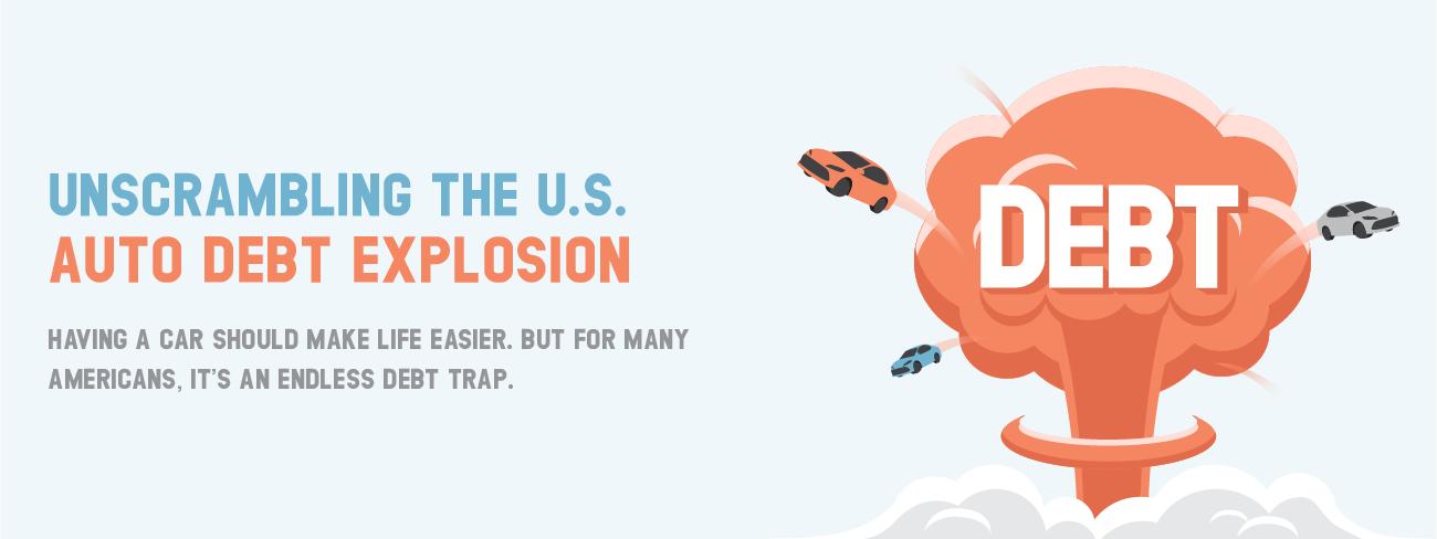 Auto loan debt explosion