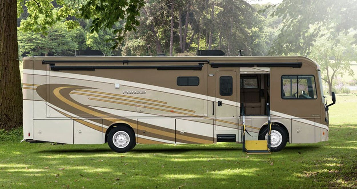 The Forza AE from Winnebago has a base price of $341,124.